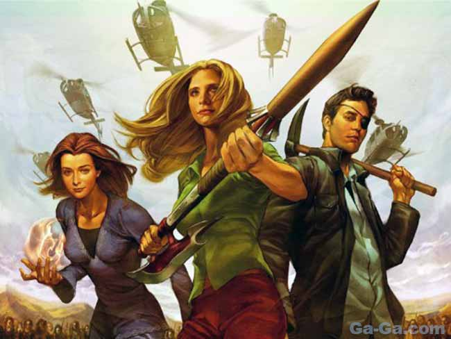 Buffy series 8 motion comic